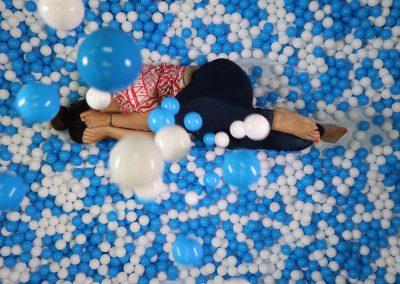 Blue & White Ball Pit