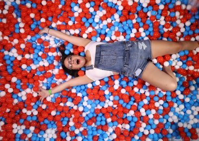 Red, White & Blue Ball Pit